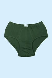 CEYLANOĞLU - 12' li Koyu Yeşil Süprerm Penye Erkek Kilot