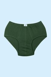 12' li Koyu Yeşil Süprerm Penye Erkek Kilot - Thumbnail