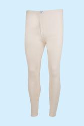CEYLANOĞLU - 3' lü Krem Erkek İnterlok Uzun Don
