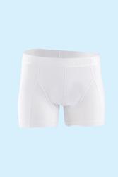 CEYLANOĞLU - 3'lü Beyaz Erkek Likralı Boxer
