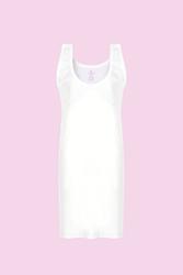 CEYLANOĞLU - 3'lü Beyaz Penye Bayan Kombinezon