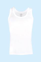 CEYLANOĞLU - 6' lı Beyaz Penye Süprem Erkek Atleti